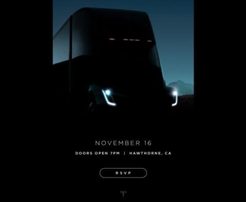 Tesla características diseño primer camión eléctrico
