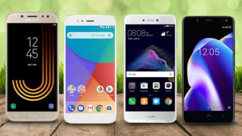 Mejores móviles Android buenos y baratos para comprar en 2017.