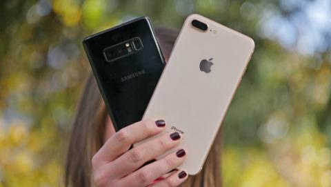 Comparativa de cámaras entre el iPhone 8 Plus y el Samsung Galaxy Note 8