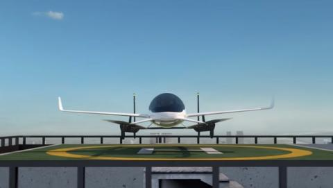 Uber y NASA se unén para cear el coche volador en 2020