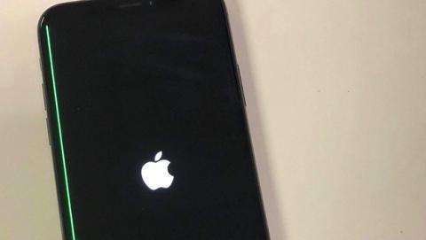 Algunos iPhone X tienen una molesta línea verde en la pantalla