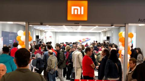 Así es la primera tienda física de Xiaomi en España