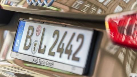 Cómo saber la matrícula que tendrá tu coche nuevo