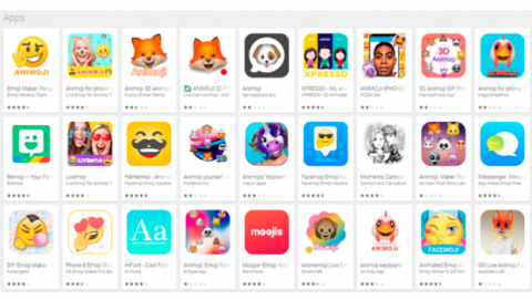 Mejores apps animojis móviles Android Google Play