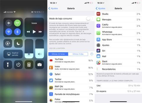 El problema de YouTube en la batería del iPhone X