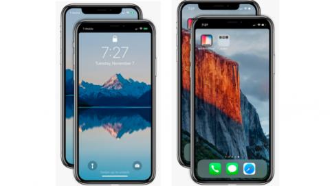 App eliminar ceja iPhoneX