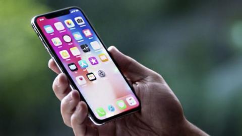 Apple producción iPhone X