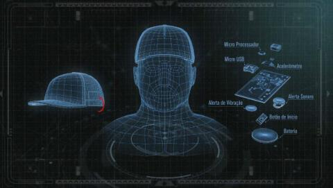 Esta gorra Ford impedirá que te duermas mientras conduce.
