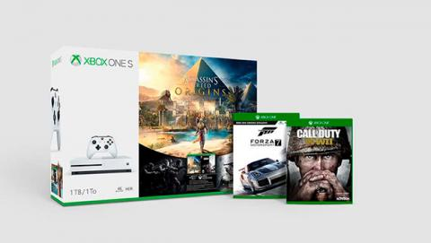 Juegos exclusivos de Xbox one S en oferta