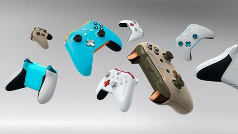 Diseña tu mando personalizado en Xbox Design Lag