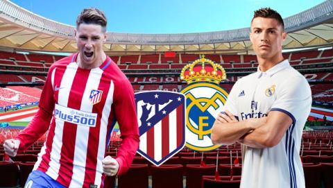 Cómo ver en directo por Internet el derbi Atlético de Madrid vs Real Madrid.