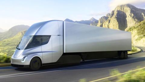 Todos los datos del camión eléctrico Tesla Semi.