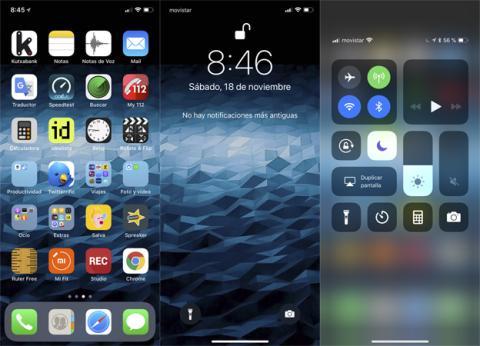 Así es la interfaz de Apple