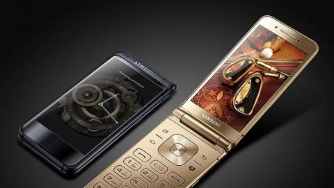 Samsung W2018: el teléfono plegable más potente del mercado