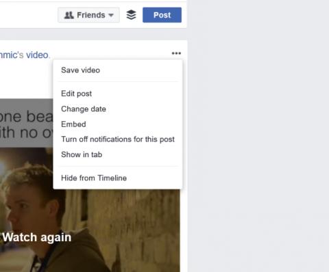 botón eliminar facebook