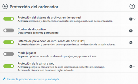 ESET Internet Security 2018 Protección del ordenador