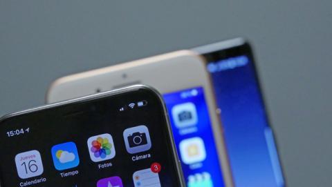 ¿Prefieres el Galaxy S8 o el iPhone X? Depende de tu edad