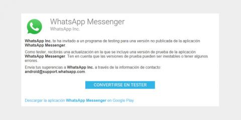 WhatsApp Messenger Beta