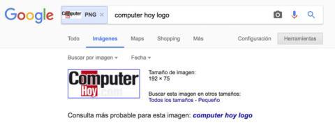 Qué opciones tengo para buscar imágenes por Google