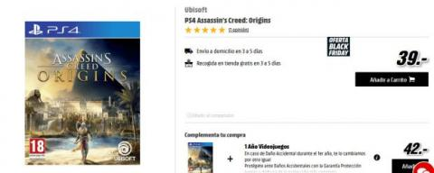 oferta assassins creed origins