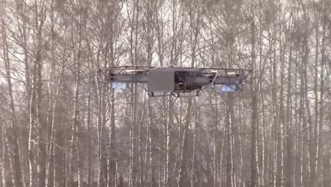 Este dron ruso es capaz de cargar con 650 kilos de peso