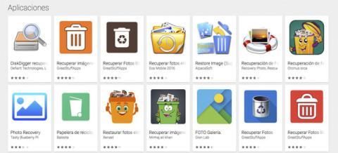 Los resultados que puedes encontrar en las aplicaciones de Google Play