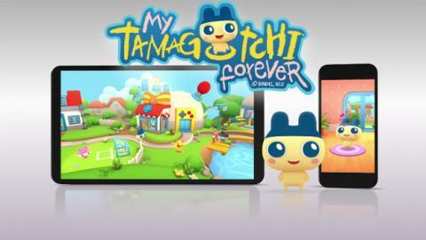 My Tamagotchi Forever: vuelve el tamagotchi, ahora en versión para móviles.