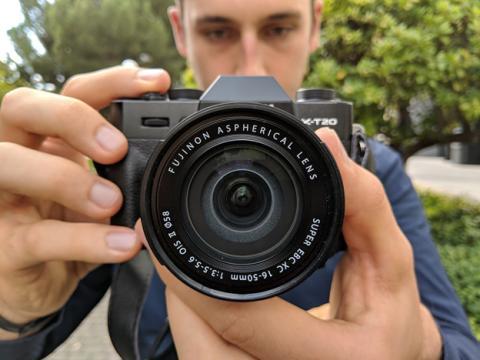 Diseño de la Fujifilm X-T20