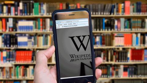 Wikipedia Dark Web
