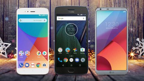 Mejores móviles Android potentes y baratos de 2017.