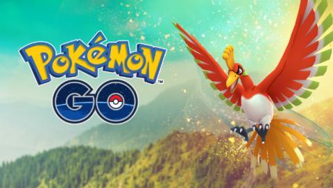 Ho-Oh, ya disponible en Pokémon GO.