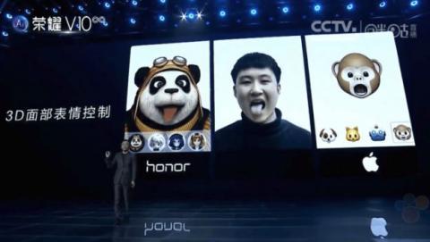Los animojis llegarán a los móviles de Huawei en 2018.