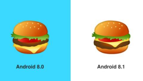 Google soluciona el problema del emoji de la hamburguesa.