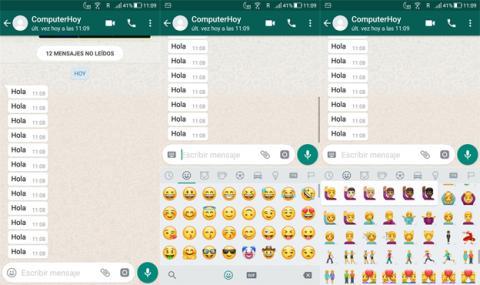 Nuevos emoticonos de WhatsApp en Android