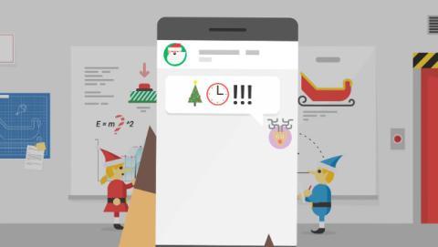Ya puedes seguir a Santa Claus en directo desde tu móvil en Navidad de 2017.