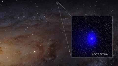 Descubrimiento agujeros negros supermasivos