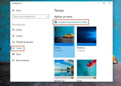 descargas de temas de windows vista media center