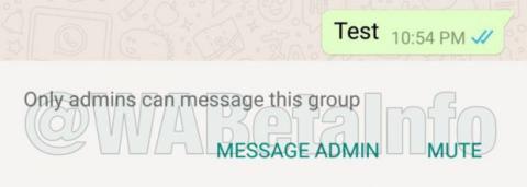 Grupos restringidos whatsapp
