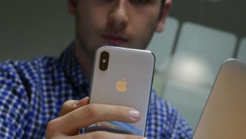 iPhone X reconocimiento facial usuario