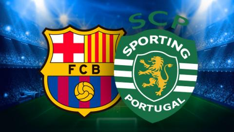Ver el Barcelona - Sporting de Lisboa en streaming online.