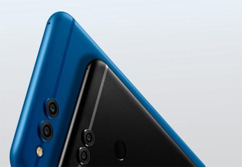 El Honor 7X en azul y negro