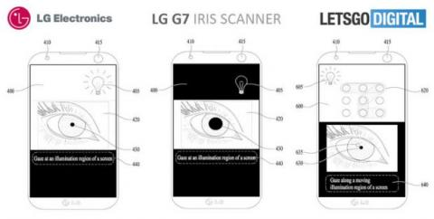 lg g7 escáner iris
