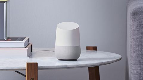 Se trabaja en un Google Home con pantalla integrada