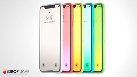 Los posibles colores del iPhone Xc