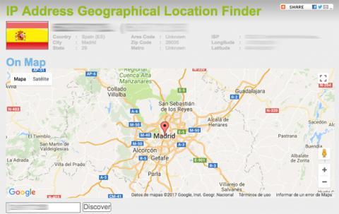 Geolocalización IP