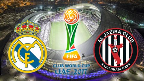 Cómo ver gratis por Internet desde el móvil el Madrid vs Al Jazira del Mundial de Clubes 2017.