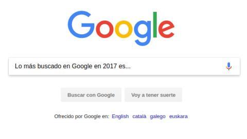 Lo más buscado en Google en 2017.