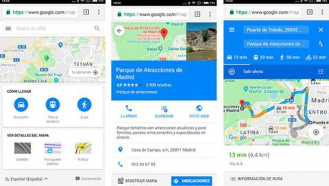 Google Maps ligero