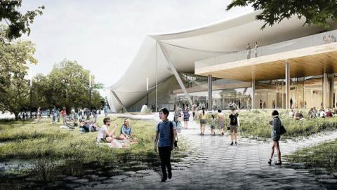 El nuevo campus de Google en Silicon Valley, envuelto en la polémica.