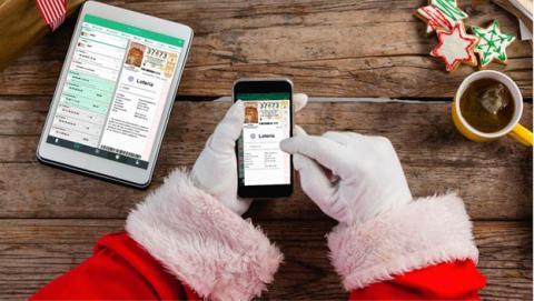 Lotería navidad 2017 compartir décimo WhatsApp